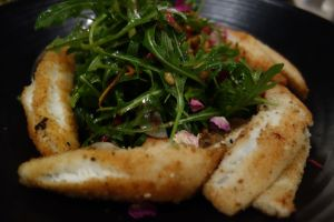 Dukkah crumbed Whiting